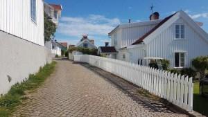 Ruelle de Fiskebackskil en Suède