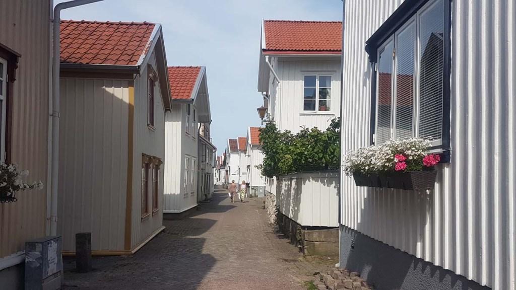 Quartier Gamlestan de Lysekil, Suède