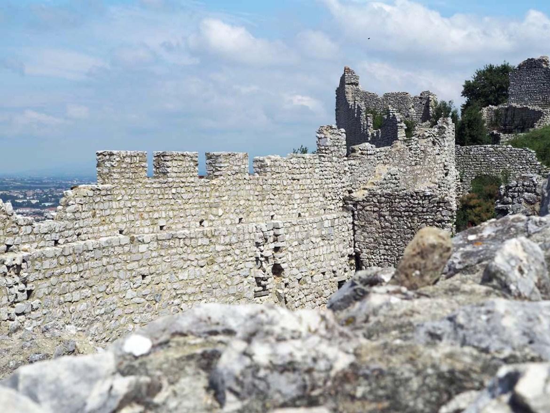 Ruines du château de Crussol, Ardèche