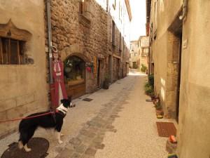 Ruelles du village de Désaignes, Ardèche