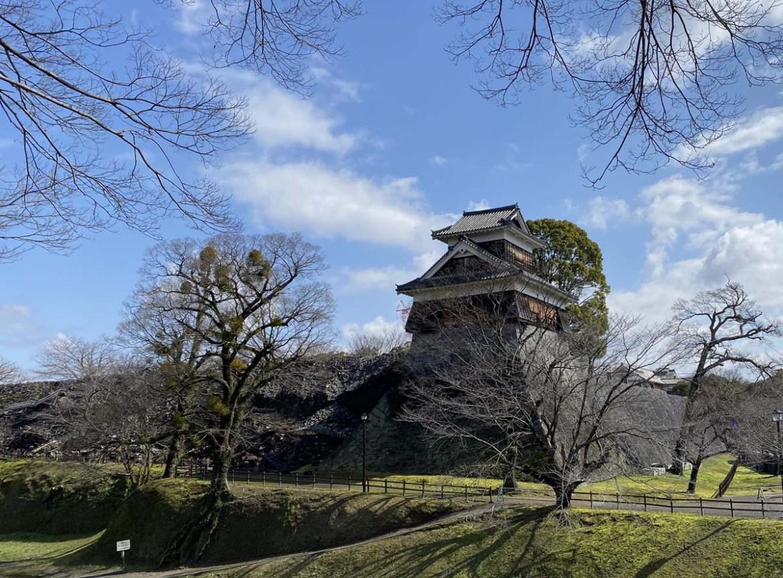 Enceinte du château de Kumamoto, Japon
