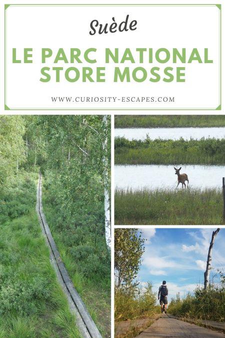 Visiter le parc national Store Mosse au sud de la Suède, région Småland