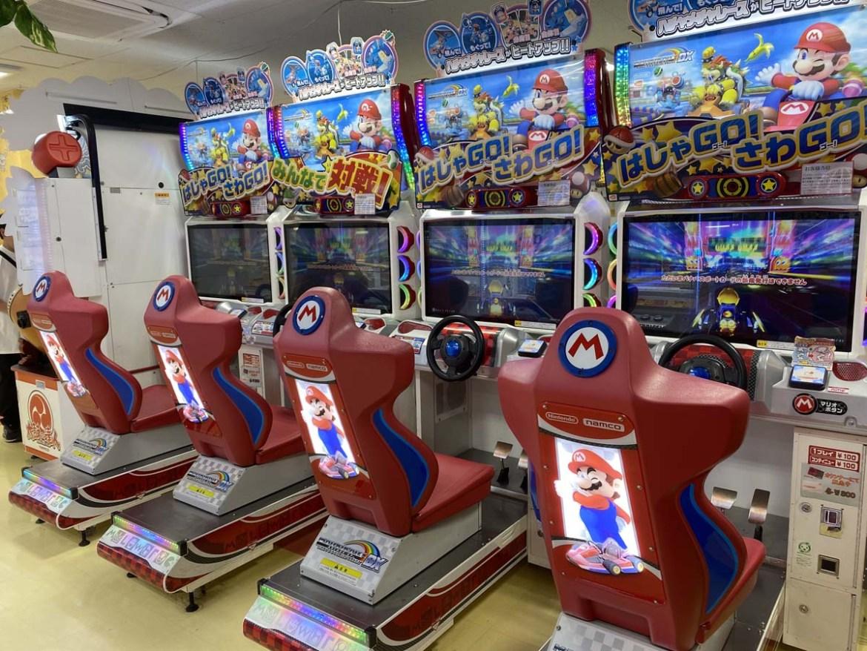 Salle de jeux d'arcade à Kumamoto, Japon