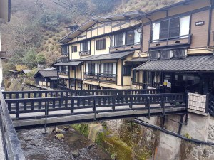 Village de Kurokawa Onsen, préfecture de Kumamoto, Japon
