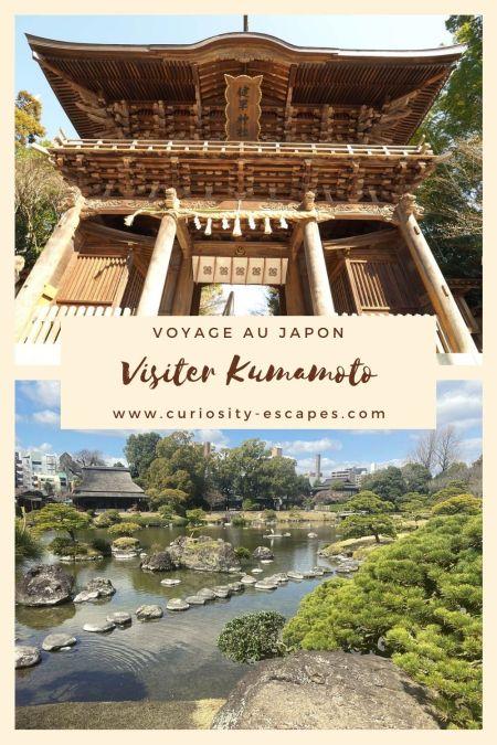 Visiter Kumamoto au Japon, île de Kyushu