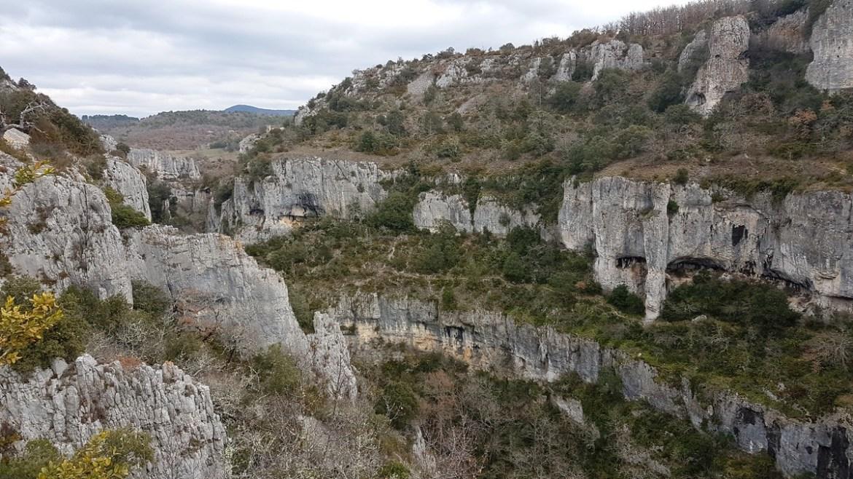 Randonnée des gorges d'Oppedette