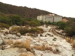 Site d'urbex à Unzen Onsen, Japon