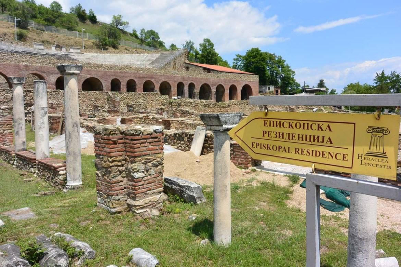 Visiter la cité historique d'Heraclea Lyncestis à Bitola