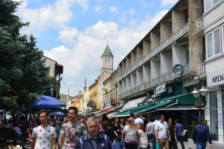 Rue Shirok Sokak de Bitola, Macédoine