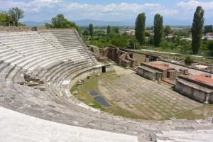 Théâtre antique d'Heraclea Lyncestis, Macédoine