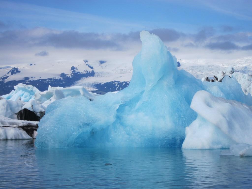 glacier lake iceland
