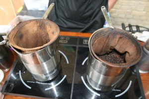 Thai coffee brewing method