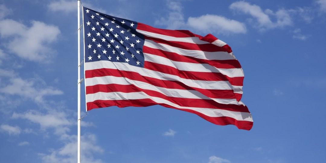 american flag political