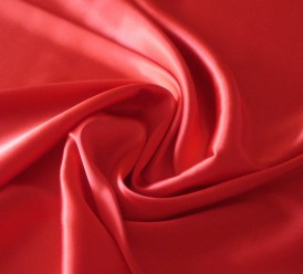 silk sheets red