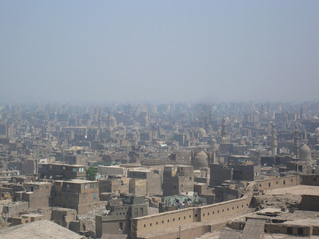 View of Cairo from citadel