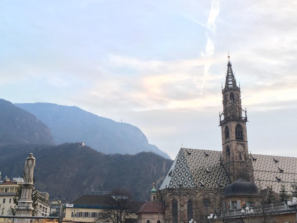 bolzano bozen cathedral roof