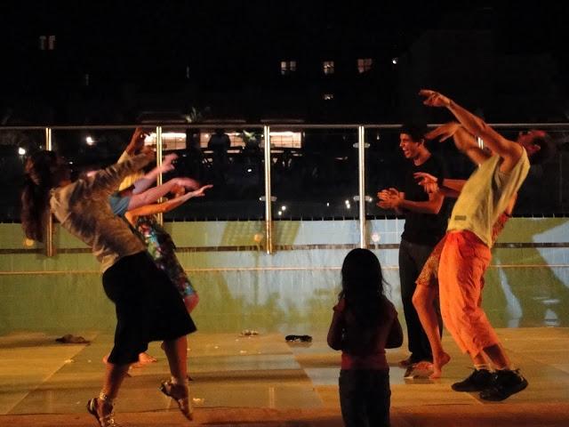 dancing dead sea jordan