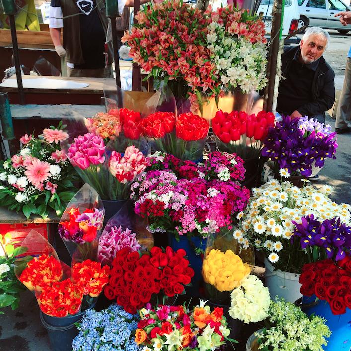 flower market tbilisi