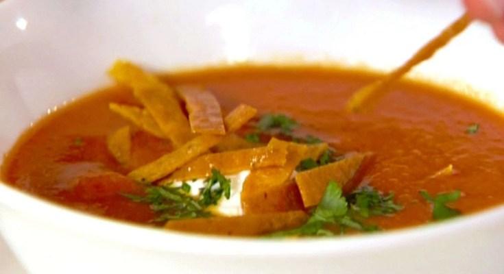 Tortilla in Zuppa Ricetta