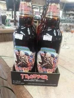 Iron Maiden's Trooper Ale