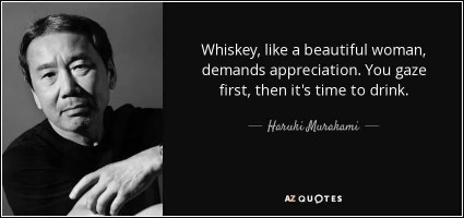 Haruki Murakami bevitore