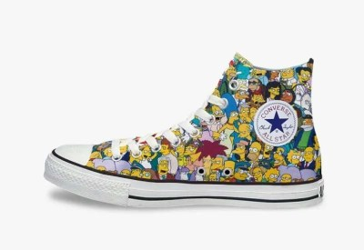 Simpsons x Converse Chuck Taylor All Star