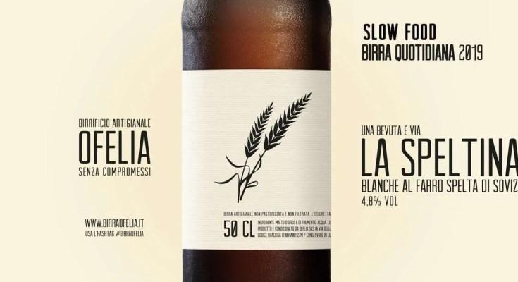 Birra Ofelia Artigianale La Speltina