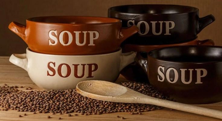 Zuppa di castagne e ceci ricetta