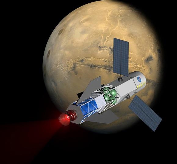 Foguete-movido-a-fusao-nuclear-pode-levar-homem-a-Marte-em-30-dias