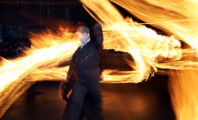 The Fireballs Hogmany Celebrations In Stonehaven
