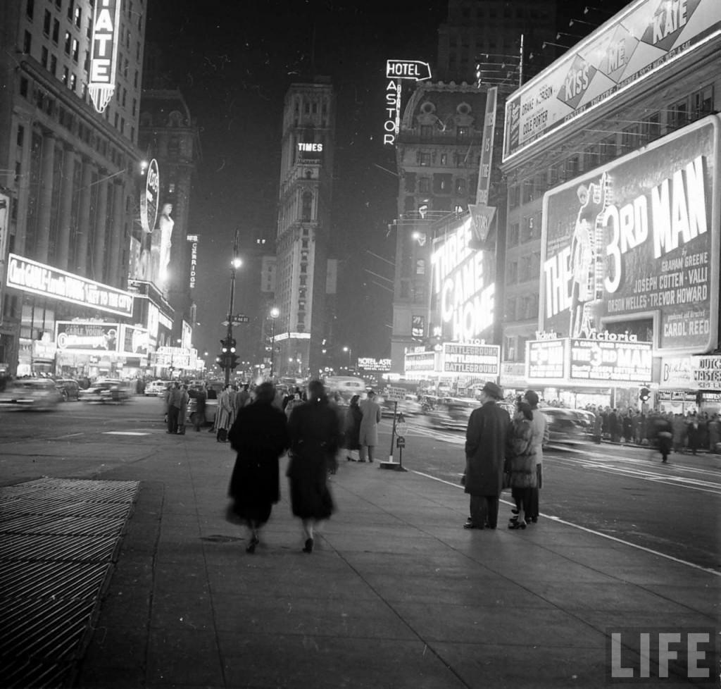 Time Square, em 1950