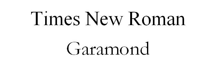 timesgaramont