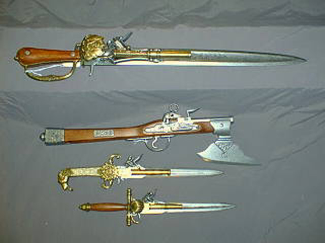 Reproduction Pistols Curious Antiquities