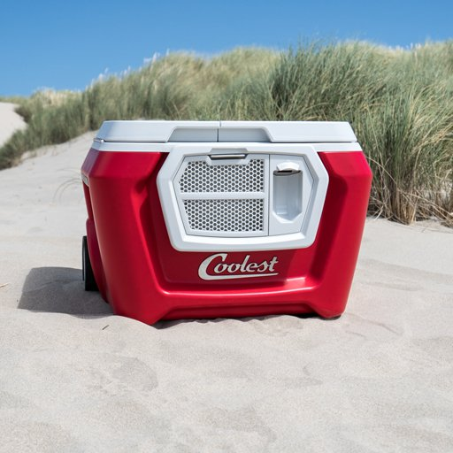 The Coolest cooler with speakers