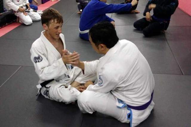Brazilian Jiu Jitsu in Hong Kong - Fighting