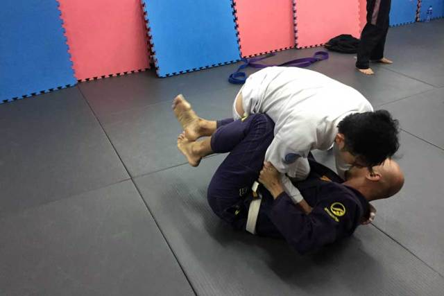 leaving it to the professionals at Brazilian Jiu Jitsu