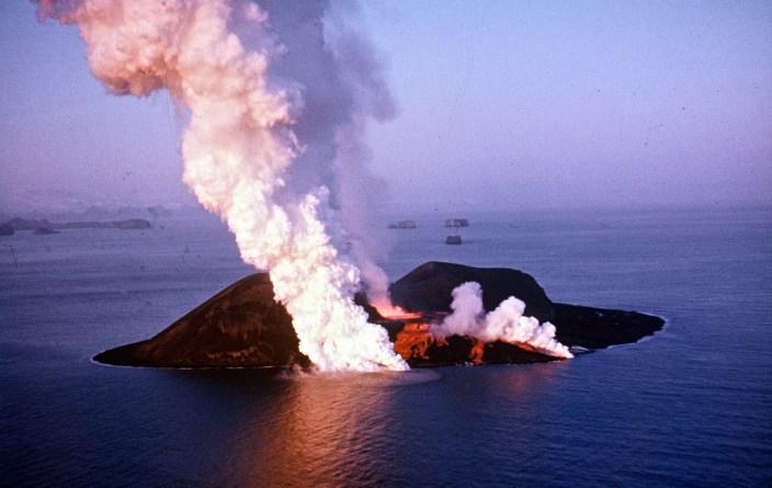 Surtsey Volcanic Island