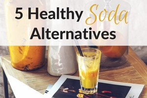 5 healthy alternatives to soda feature image
