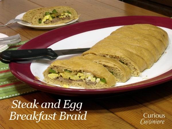 Steak and Egg Breakfast Braid
