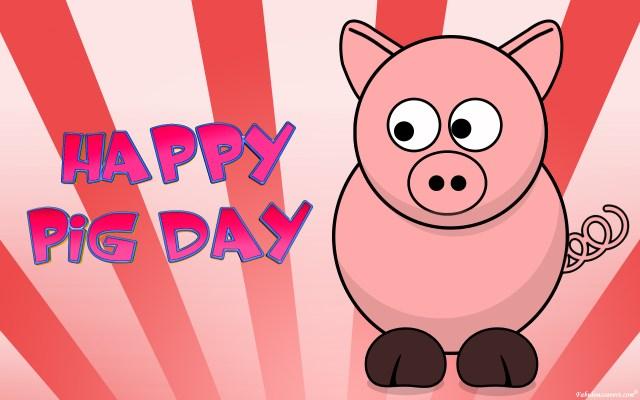 Curiouskeeda - Unique Days - Pig Day