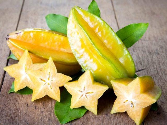 Curiouskeeda - Fruits - Star Fruit