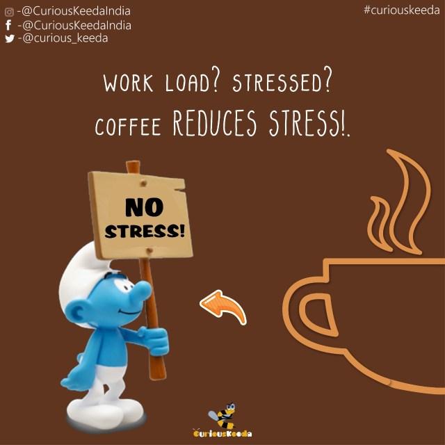 Curiouskeeda - Coffee - Stress