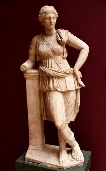 greek goddess of hunt