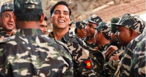 Akshay kumar in army uniform