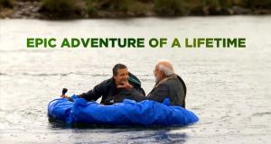 bear grylls and modi