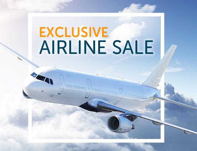 Discounts flight tickets