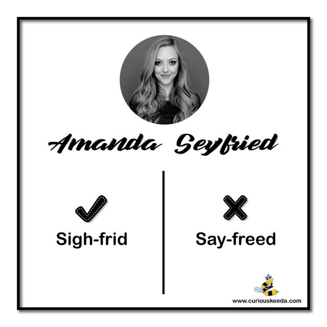 amanda pronunciation mistake