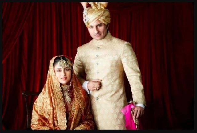 Kareena Kapoor Bollywood Star Wedding Dress