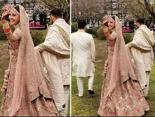 Anushka Sharma Wedding Dress