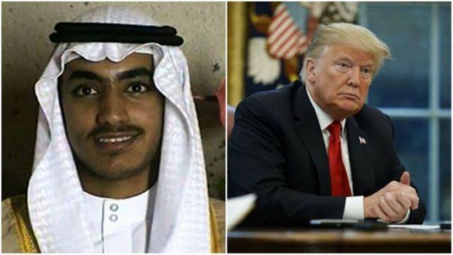 hamza bin laden and Donald trump